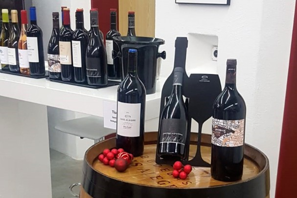 Bodegas Luis Alegre in the most traditional Christmas wine fairs in Switzerland