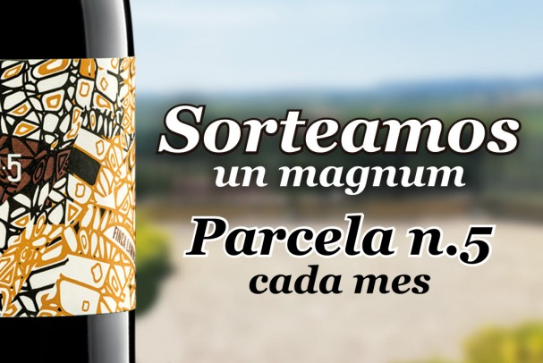 Visit our winery and you can be the winner of a bottle Magnum Parcela Nº 5